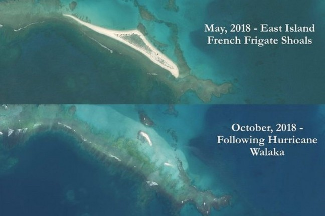 East_Island,_Hawaii_before_and_after_Hurricane_Walaka